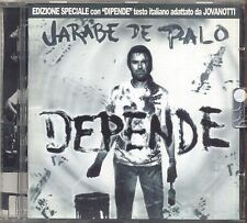 JARABE DE PALO - Depende - JOVANOTTI CD 2000 NEAR MINT CONDITION