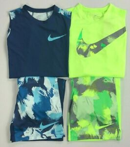 Boy-039-s-Youth-Nike-Sleeveless-Shirt-Tank-Top-and-Shorts-2-Piece-Set-Outfit