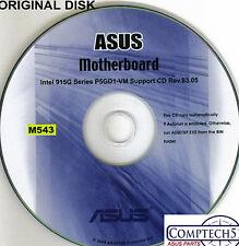 ASUS GENUINE VINTAGE ORIGINAL DISK FOR P5GD1-VM Motherboard Drivers Disk M543