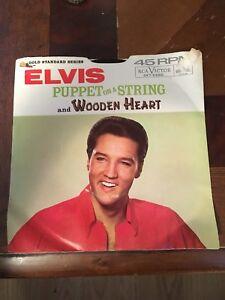 1960s-Rock-45-ELVIS-PRESLEY-034-Puppet-On-A-String-034-034-Wooden-Heart-034-RCA-w-Sleeve