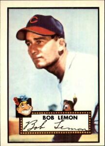1983 Topps Reprint 52 Baseball Card #268 Bob Lemon