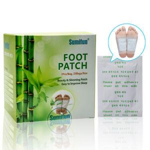 50X-Detox-Pied-Tampons-Patch-Detoxifier-Toxines-Fit-Des-Soins-Sante-Detox-TRTQC