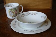 Royal Albert Beatrix Potter Mug Bowl Plate Flopsy Bunnies Tom Kitten Jemima Duck