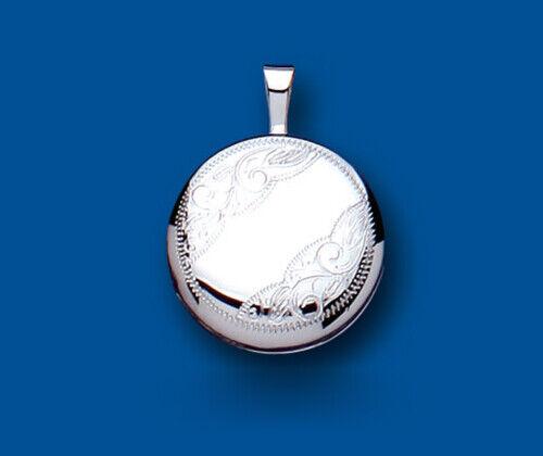 argentoo Sterling con motivo Medaglione 16mm ROUND 925 lunghezze di di di catena di tutte le Hallmark 47bbf9