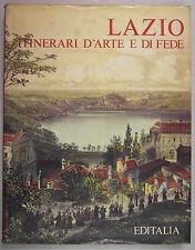 Rivosecchi LAZIO ITINERARI D'ARTE E DI FEDE 1975 Editalia Roma