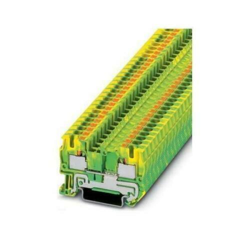 Phoenix Contact PT 4-PE -NEW- REIHENKLEMME; grün/gelb; 4mm²; 3211766