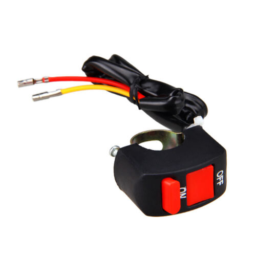 DC12V//10A Motorcycle ATV Bike Handlebar Kill Stop Switch ON OFF Button Connector