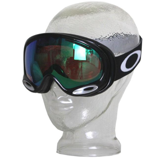 fa53f9f2b90b Oakley Oo7044 a Frame 2.0 Jet Black Jade Prizm Ski Goggles for sale ...