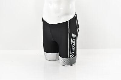 Verge Men/'s Strike Tri Short Black//Grey Medium Brand New