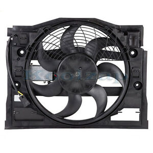 99 05 Bmw 3 Series E46 Ac Condenser Cooling Fan Motor