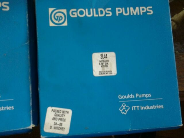 "Goulds 2L44 Impeller 5.75/"" diameter 16.0171 NEW"