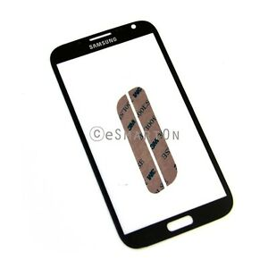 Samsung-Galaxy-Note-2-II-N7100-Glass-Touch-Screen-Lens-Digitizer-Cover-Black