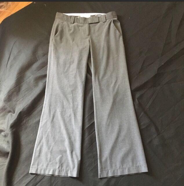 Ann Taylor Loft Marisa Dress Pants Trouser Woman's 4 Career Gray