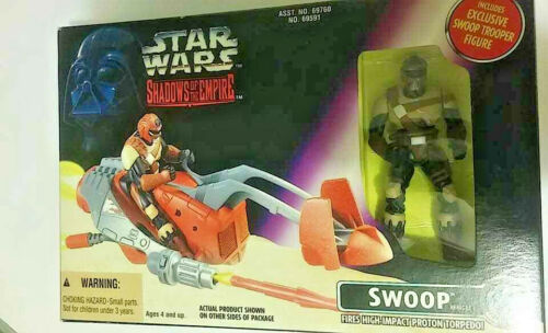 Star Wars Shadows Of The Empire Swoop Vehicle With Swoop Trooper 1996 Kenner New