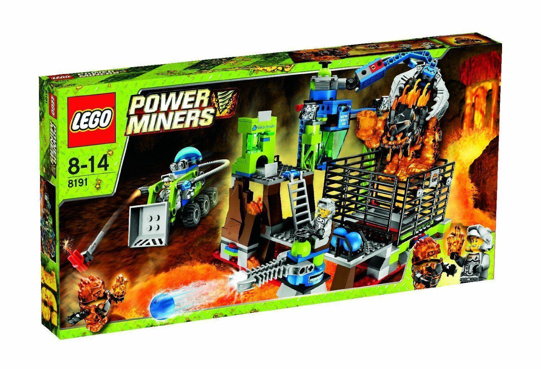 nuovo sealed in  original scatola Retirosso Lego energia Miners Lavatraz   8191 Factory  sconto online di vendita