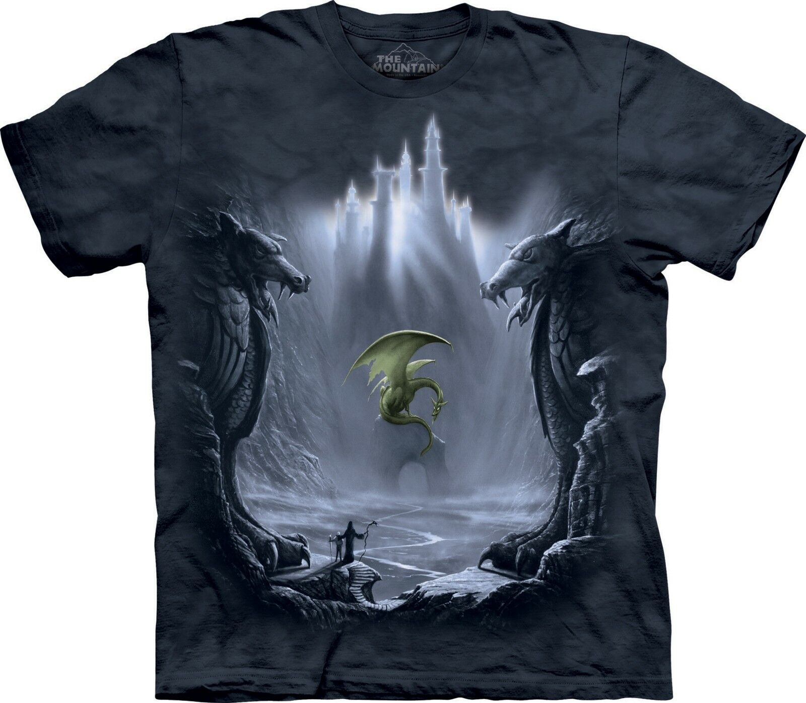 Lost Valley Dragons T Shirt Adult Unisex The Mountain