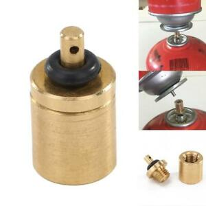 1*Gas Refill Adapter Stove Cylinder Butane Canister Tank for Outdoor Camping BBQ