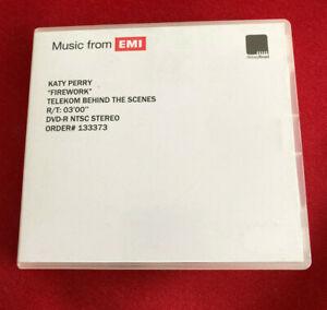 KATY PERRY Firework Behind the Scenes UK promo dvd acetate ABBEY ROAD studios