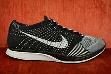 1d19fa8d333b CLEAN Nike Flyknit Racer OG Black White Tongue Size 12 526628-002 Running