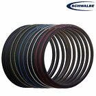 Schwalbe Lugano 700x23,25,28 PAIR/SINGLE All Colours Road Bike Cycle Tyre +Tube