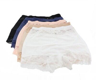 Rhonda Shear 5Pc Pinup Panty Lace Trim Neutrals XL NEW 667-760