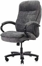 Clatina Ergonomic Big Amp Tall Executive Office Chair With Fabric Upholstery 400lb