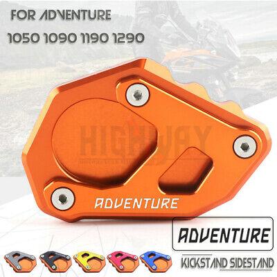 Für KTM 1050 1090 1190 1290 Adventure CNC Fuß Seitenständer Pad Stützplatte X6O4