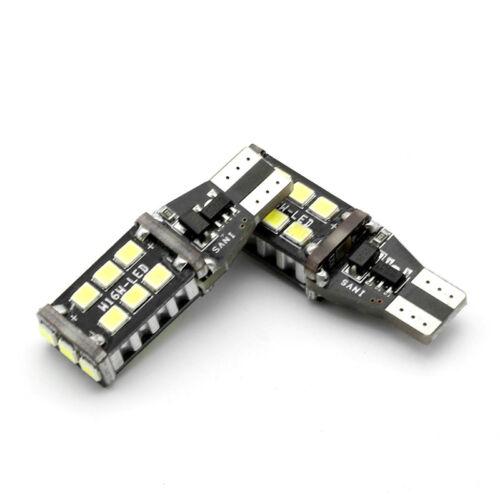 2x 921 912  T15 W16W LED 6000K Bright White Car Backup Reverse Light Bubls Lamp