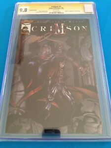 Crimson-1-Variant-and-Chromium-set-Image-CGC-SS-9-8-All-Signed-by-Ramos