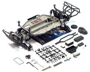 TRAXXAS-SLASH-2WD-XL5-1-10-roller-chassis-transmission-drive-train-shocks
