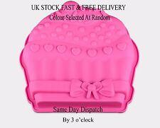Vincenza Cake Silicone Muffin Pudding Cupcake Bakeware Pan Mould Baking Tray UK