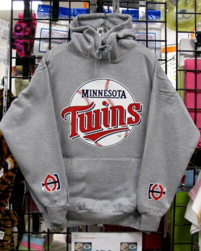 4XL 5XL-  NICE! Gray HOODIE S Minnesota TWINS M L 3XL 2XL XL