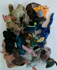 TY-BEANIE-BABIES-LOT-OF-15-All-with-Tags-in-GOOD-Condition-Open-to-Offers