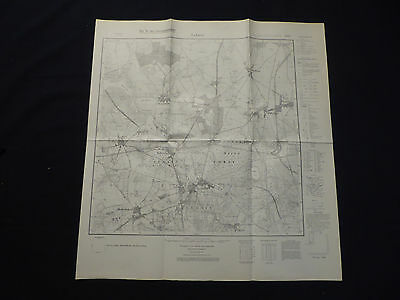 Landkarte Meßtischblatt 3642 Lehnin, Nahmitz, Netzen, Damsdorf, Plötzin, 1938