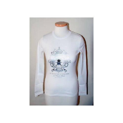 Crest London 648160 My L Flat s T silver 731840613692 White shirt In W vUq1ZqA