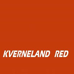 KVERNELAND RED Agricultural Tractor Machinery Enamel Gloss Paint