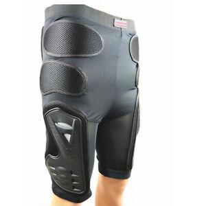 Motorcycle Motocross Enduro Pants Hip Armor Shorts Bum Padded Protector L