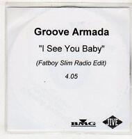 (EV662) Groove Armada, I See You Baby - DJ CD