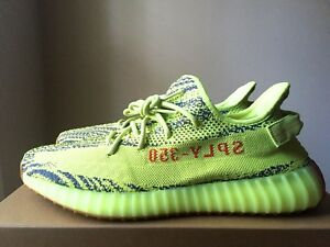 4a72c4465 Adidas Yeezy 350 Boost V2 Semi Frozen Yellow B37572 RARE SIZE 14.5 ...