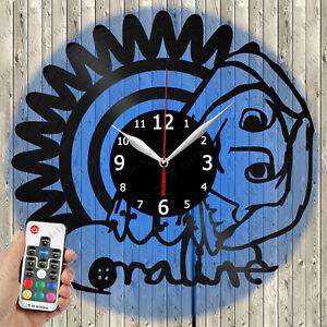Led Clock Coraline Led Light Vinyl Record Wall Clock Led Wall Clock 3085 Ebay