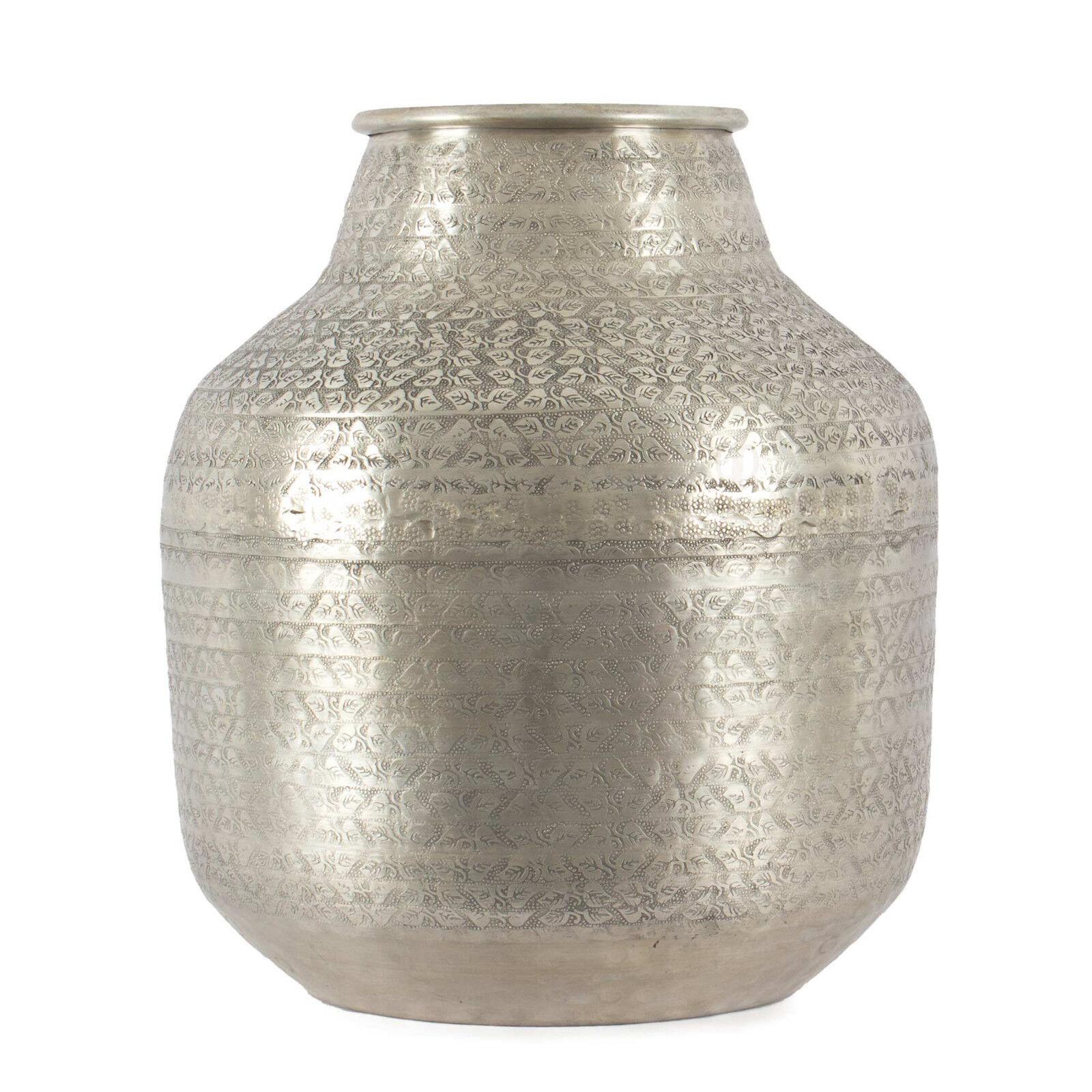 Gefäß Aluminium Used-Look 38,5 cm   Dekoration, Dekoobjekt, Krug, Vase