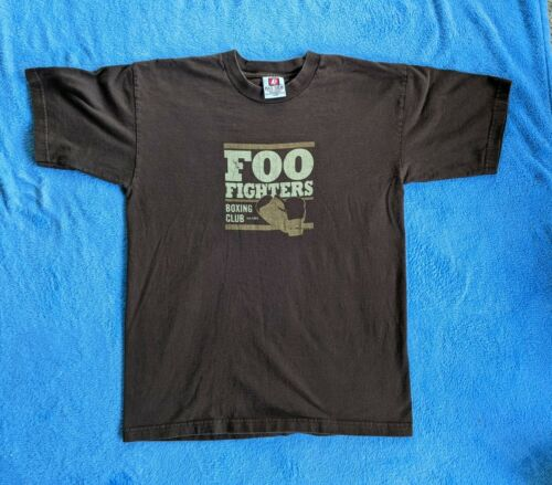 FOO FIGHTERS Large T-shirt Boxing Club Ext. 1994 R