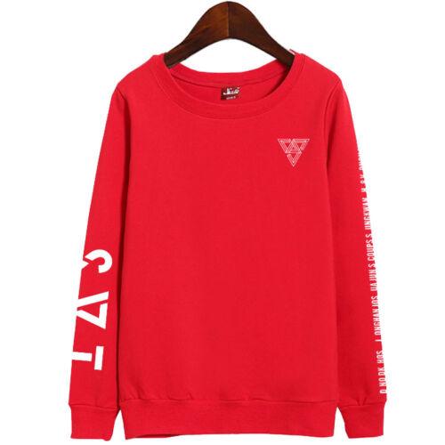 Kpop SEVENTEEN UNISEX SWEATER 2018 JAPAN ARENA SVT Concert Sweatershirt ZD281