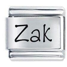 ZAK Name - 9mm Daisy Charm by JSC Fits Classic Size Italian Charms Bracelet