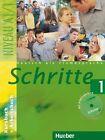 Schritte 1. Kursbuch und Arbeitsbuch mit Audio-CD zum Arbeitsbuch von Sylvette Penning-Hiemstra, Daniela Wagner, Monika Bovermann und Franz Specht (2013, Kunststoffeinband)
