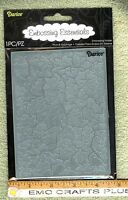 Darice crackle Embossing Folder A2 1218-57