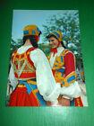 Cartolina Costumi Sardi - Desulo ( Nuoro ) 1975 ca