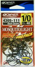 OWNER 90° X Strong Short Shank Jig Hooks 5313-111 Size 1//0-57 pack for molds