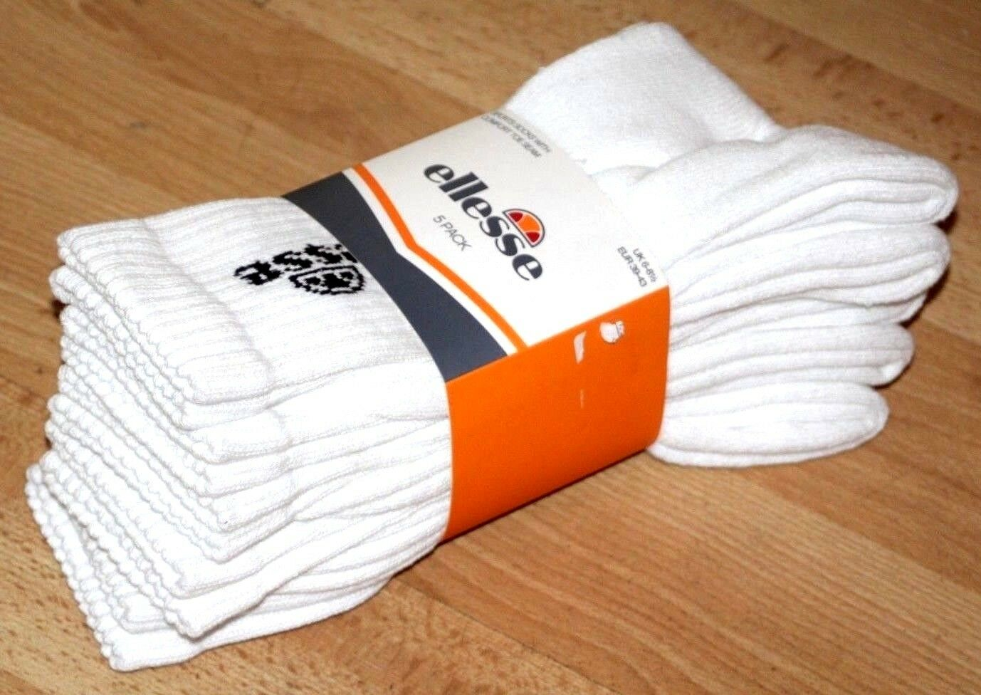 Ellesse Italia Italia Ellesse Homme Coolmax Chaussettes De Sport Pack de 5 RRP £ 16 UE 9-12 UE 43-46 f52ba4