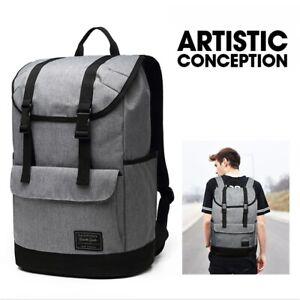 Backpack-Laptop-Bag-Hiking-Camping-Rucksack-Backpack-Canvas-School-Casual-Bag